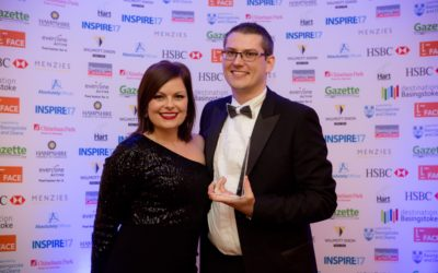 Inspire Awards New Business of the Year 2017 WINNER!