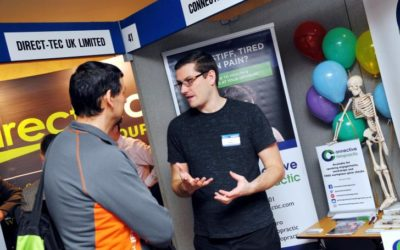 Workplace Wellbeing workshops launch at Basingstoke Business Expo 2018
