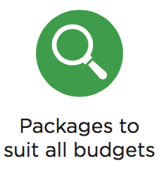 workshop packages to suit all budgets
