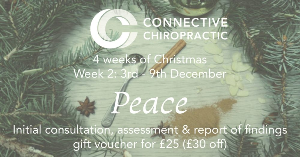 Week 2 Christmas offers at Basingstoke Chiropractic Clinic, Connective Chiropractic