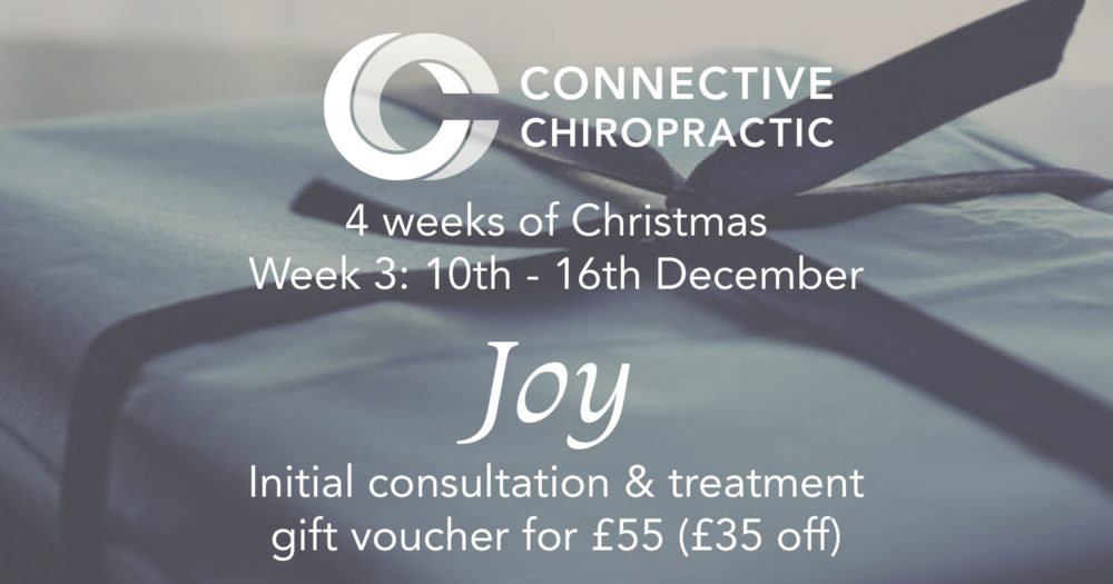 Week 3 Christmas offers at Basingstoke Chiropractic Clinic, Connective Chiropractic