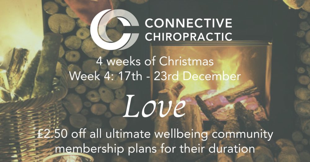 Week 4 Christmas offers at Basingstoke Chiropractic Clinic, Connective Chiropractic