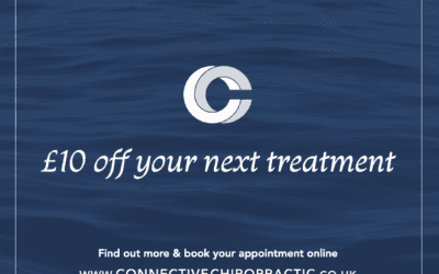 Refer a friend at Connective Chiropractic for £10 off your next treatment